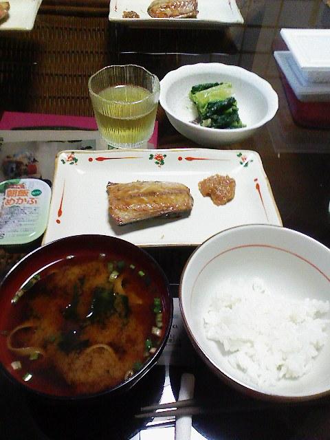 宿の朝ご飯